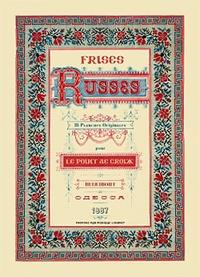 Blackclover.fr Frises Russes - 18 Planches Originales pour le point de croix Image