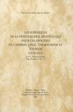 Monique Maillard-Luypaert - Les suppliques de la Pénitencerie apostolique pour les diocèses de Cambrai, Liège, Thérouanne et Tournai (1410-1411).