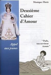 Monique-Marie - Deuxième cahier d'amour - Appel aux jeunes.