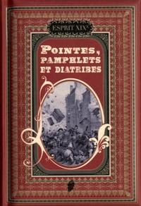 Monique Nemer et  Lefebvre - Pointes, pamphlets et diatribes.