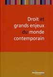 Monique Pagès et Lorry Girard - Droit et grands enjeux du monde contemporain.