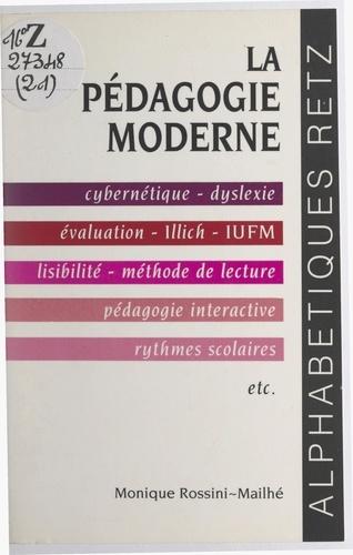 La pédagogie moderne