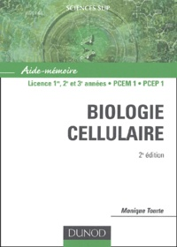Biologie cellulaire - Monique Tourte pdf epub
