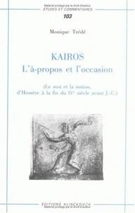 Deedr.fr Kairos : L'à-propos et l'occasion - Le mot et la notion, d'Homère à la fin du IVe siècle avant J-C Image