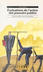 Monnier - Evaluations de l'action des pouvoirs publics.