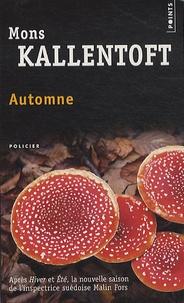 Mons Kallentoft - Automne.