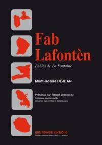 Mont-Rosier Déjean - Fab Lafontèn - Edition en créole.