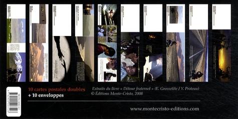 Monte-Cristo - Détour fraternel - 10 cartes  postales doubles + 10 enveloppes.