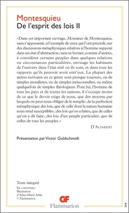 Montesquieu - De l'esprit de lois - Tome 2.