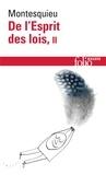 Montesquieu - DE L'ESPRIT DES LOIS. - Tome 2.