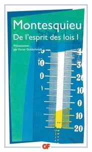 Rapidshare télécharger des ebooks gratuits De l'esprit des lois  - Tome 1 par Montesquieu 9782080703255 (French Edition)