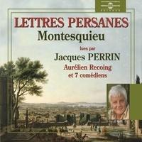 Montesquieu et Jacques Perrin - Les lettres persanes.
