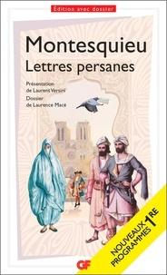 """Montesquieu - Lettres persanes - Programme nouveau Bac 2021 1re. Parcours """"Le regard éloigné""""."""