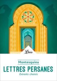 Ebook téléchargement gratuit pdf en anglais Lettres persanes  - Extraits choisis 9782290228562