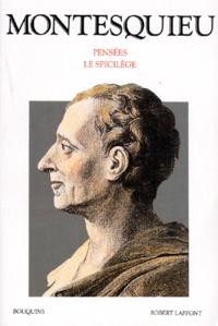 Pensées- Le spicilège -  Montesquieu | Showmesound.org