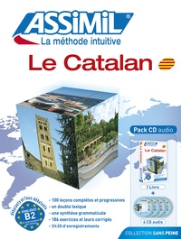 Montserrat Prudon Moral - Pack Le Catalan - 1 livre + 4 Cd Audio.