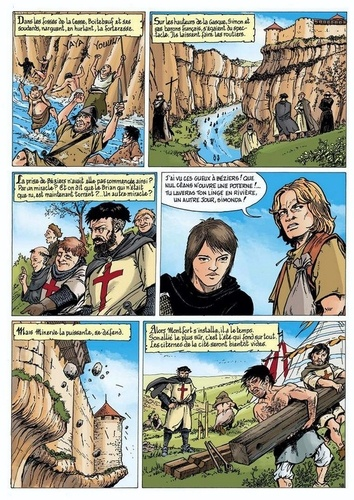 L'épopée cathare  Minerve 1210