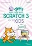 Morad Attik et Rabah Attik - 25 défis pour coder avec Scratch 3 pour les kids.