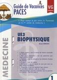 Moran Berraro - UE 3 Biophysique.