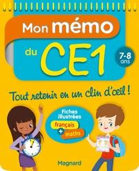 Téléchargements gratuits d'ebooks mobiles Mon mémo du CE1  - 7-8 ans par Morgane Céard en francais 9782210755994