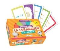 Morgane David - J'apprends la conjugaison en jouant - Contient 1 livre pédagogique et des cartes.