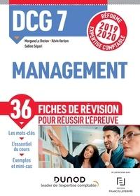 Morgane Le Breton et Kévin Herlem - DCG 7 Management - Fiches de révision.