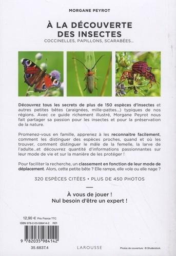 A la découverte des insectes. Coccinelles, papillons, scarabées...