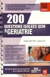 Morgane Saint-Cricq et Ludovic Letich - 200 questions isolées QCM en gériatrie.
