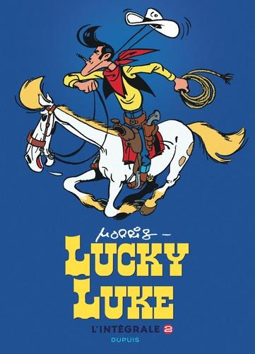 Morris - Lucky Luke L'intégrale Tome 2 : Sous le ciel ; Lucky Luke contre Pat Poker ; Hors-la-loi.