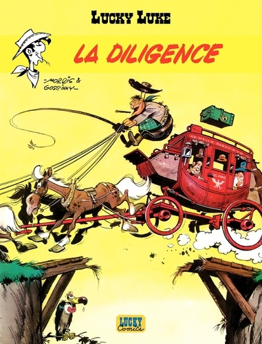 Lucky Luke Tome 1 - La diligence Morris - 9782884717250 - 5,99 €