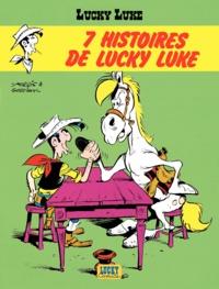 Morris et René Goscinny - Lucky Luke Tome 15 : 7 histoires de Lucky Luke.