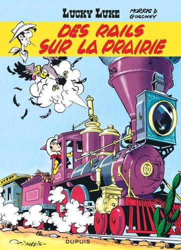 Morris - Lucky Luke Tome 9 : Des rails sur la prairie.