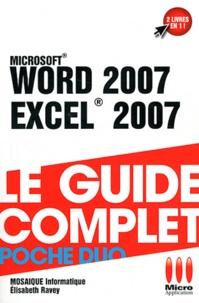 Mosaïque Informatique et Elisabeth Ravey - Word 2007 & Excel 2007.