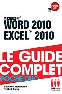 Mosaïque Informatique - Word 2010 et Excel 2010.