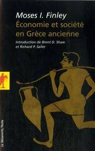 Moses I. Finley - Economie et société en Grèce ancienne.