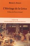 Moses I. Finley - L'Héritage de la Grèce.