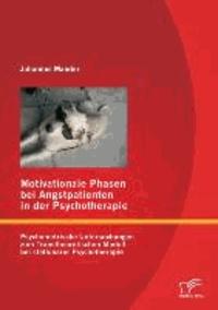Motivationale Phasen bei Angstpatienten in der Psychotherapie - Psychometrische Untersuchungen zum Transtheoretischen Modell bei stationärer Psychotherapie.