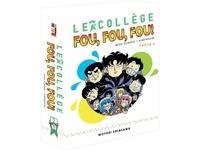 Motoei Shinzawa - Le collège Fou Fou Fou - Flash ! Kimengumi  : Coffret collector en 10 volumes, partie 2 : Tomes 11 à 20.