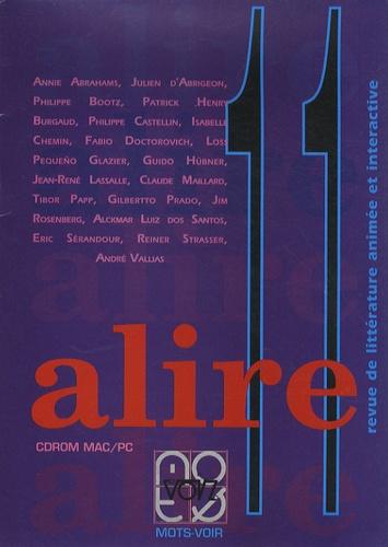 Julien d' Abrigeon - Alire N° 11 : CD-ROM.