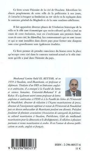 Ouadane, port caravanier mauritanien : ses fondateurs et leurs mouvements migratoires