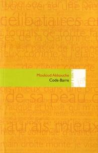 Mouloud Akkouche - Code-barre.