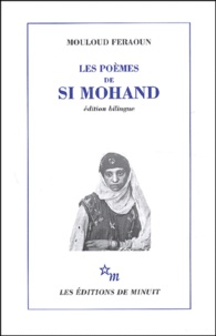 Les poèmes de Si Mohand- Edition bilingue français-arabe - Mouloud Feraoun pdf epub