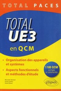 Deedr.fr Total UE3 en QCM - Organisation des appareils et systèmes, aspects fonctionnels et méthodes d'étude Image