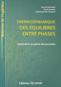 Lemememonde.fr Thermodynamiques des &quilibres entre phases - Application au génie des procédés Image