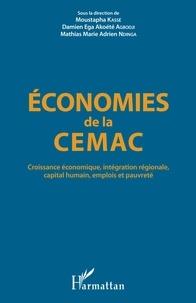 Téléchargements de livres complets Economies de la CEMAC  - Croissance économique, intégration régionale, capital humain, emplois et pauvreté 9782343170978 en francais