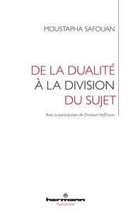 Ebook anglais téléchargement gratuit De la dualité à la division 9791037001658 par Moustapha Safouan