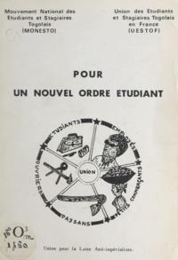 Mouvement national des étudian et  Union des étudiants et stagiai - Pour un nouvel ordre étudiant - Union pour la lutte anti-impérialiste.