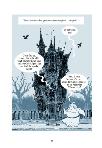 109, rue des Soupirs Tome 1 Fantômes à domicile
