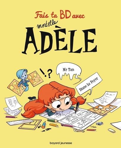 Fais ta BD avec Mortelle Adèle. Avec un gaufrier et des pochoirs