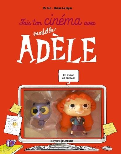 Fais ton cinéma avec Mortelle Adèle. Avec 2 figurines et 3 décors articulés